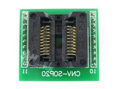 27.59$  Buy now - https://alitems.com/g/1e8d114494b01f4c715516525dc3e8/?i=5&ulp=https%3A%2F%2Fwww.aliexpress.com%2Fitem%2FSO20-SO20-SOP20-TO-DIP20-OTS-20-1-27-01-Enplas-Programming-Adapter-Test-Burn-in%2F32726780119.html - SO20 SO20 SOP20 TO DIP20 OTS-20-1.27-01 Enplas  Programming Adapter Test Burn-in Socket 1.27mm Pitch 5.4mm Width 27.59$