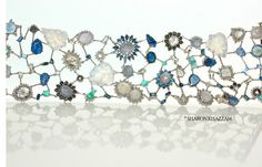 Gemstone bracelet by Sharon Khazzam