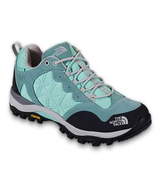LOVE THESE!!! Except mine and all the light green/blue and black. Waterproof, warm, comfortable, and got these for a steal at the NF Outlet!!!  The North Face Women's Shoes: Hiking/Training - Storm Waterproof