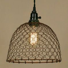 I bet I could make this with chicken wire.
