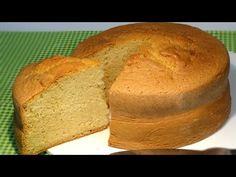 Receta Bizcocho básico para tartas - Recetas de cocina, paso a paso, tutorial - YouTube