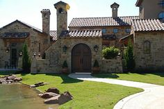 Tuscan style home in Colleyville, Texas