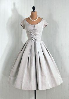 Cocktail Dress, Adele Simpson: ca. 1950's, silk