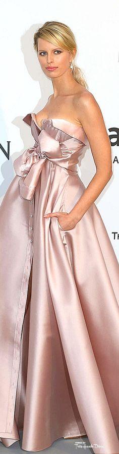 #Karolina #Kurkova in an Alexis Mabille Couture ♔ Cannes Film Festival 2015 Red Carpet ♔ Très Haute Diva ♔