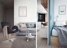 Un apartamento moderno y funcional en San Petesburgo | Noveno Ce
