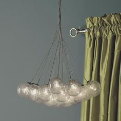 Spun-Glass Spheres Chandelier - 15 light - Shades of Light