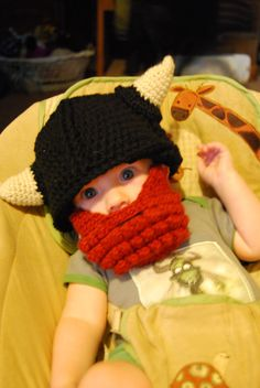 LOL the Ginge would absolutely love this...VIKING BABY!
