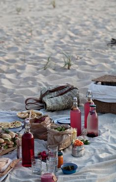 Picnic in the sand
