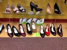 Camileon Heels available online and only at Italian Sole, Westfield, NJ!  On display at Westfield Girls Night Out :)