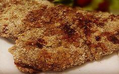 Receita de bife empanado no farelo de aveia para a fase ataque dukan.