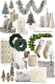 Christmas Trends, Christmas Colors, All Things Christmas, Winter Christmas, Christmas Home, Scandi Christmas, White Xmas Tree, Seasonal Decor, Holiday Decor