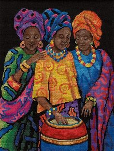 Dimensions Needlecrafts Counted Cross Stitch, Yoruban Beauties by Dimensions Needlecrafts, http://www.amazon.com/dp/B0031M76Z6/ref=cm_sw_r_pi_dp_cLIKrb13CFZ1E