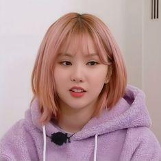South Korean Girls, Korean Girl Groups, Ikon Kpop, Jung Eun Bi, G Friend, May 1, Meme Faces, Face Claims, Pink Hair
