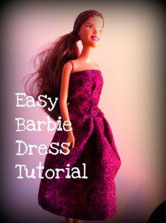 DIY Barbie Clothes...