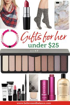Nov 8 Gifts For Her Under 25