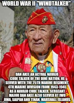Marine Corps, Code Talker, Libra, Military Veterans, American Soldiers, Native American History, Faith In Humanity, God Bless America, History Facts