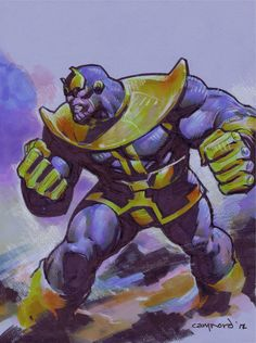 Thanos by Cary Nord.