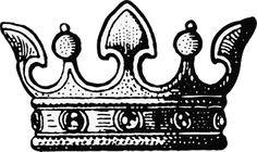vintage accessories for the pics Crown Printable, Printable Art, Free Printables, Tree Deck, Crown Drawing, Vintage Labels, Crafty Projects, Vintage Images, Cartridge Shop