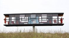 Would you live in a home that stands on a single column and rotates?