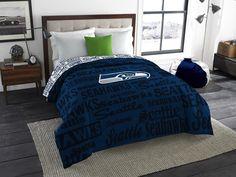 "Seattle Seahawks NFL Anthem Full Comforter. Visit <a href=""http://SportsFansPlus.com"" rel=""nofollow"" target=""_blank"">SportsFansPlus.com</a> for a Discount Coupon."