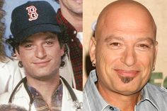 Howie Mandel as Dr. Wayne Fiscus on St. Elsewhere in 1983 and Howie Mandel in 2011