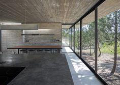 A Raw Concrete Abode Nestled Into A Pine Forest – iGNANT.de