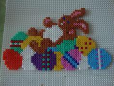 Easter hama beads (2 pegboards) y brochet