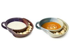 Pottery Idea...would be great if the bowl was smaller and plate bigger for chips & dips