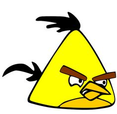 Yellow bird Angry Birds Characters - Pictured above is one of the characters of the game Angry Birds. Commonly referred to as the yellow bird. Has the power to destroy the wood. Kekuatatan specials lies in increasing the speed by the time you left click your mouse once the bird is launched. This type of bird expertise applies only to break down wood. Power less destruction when used to crush rock and ice.
