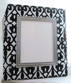 Distressed 8x10 Frame in Black White and Gray by AmberLaneFrames, $45.00