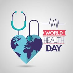 World health day Free Vector World Health Day, Art Competitions, Instagram Highlight Icons, Logo Design Inspiration, Health And Beauty, Vector Free, Medical, Words, Creative