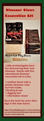 Dinosaur Discovery Excavation Kit for Kids