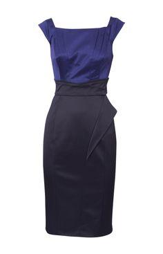 Karen Millen Colour Block Dress Multicolour - Karen Millen Outlet - $89.34