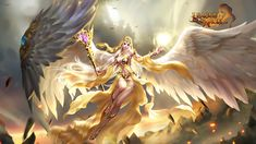 Here you can find all the latest League of Angels wallpapers. The official League of Angels wallpaper site only in GTarcade. Fantasy Art Angels, Fantasy Art Women, Beautiful Fantasy Art, Fantasy Images, Anime Fantasy, Fantasy Girl, Fantasy Artwork, Warrior Angel, Fantasy Warrior