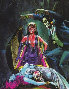 Eerie Publications art, circa 1966-1981