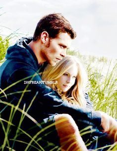 Joseph Morgan and Candice Accola. This is a beautiful photo ...