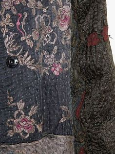 By Walid antique Chinese textile coat
