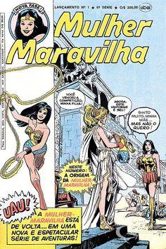 Mulher-Maravilha (Lançamento) 6ª Série - n° 1/Ebal | Guia dos Quadrinhos