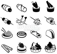 Appetizers black and white royalty free vector icon set Royalty Free Stock Vector Art Illustration Vector Icons, Vector Art, Food Icons, Icon Set, Black And White, Royalty, Appetizers, Illustrations, Drink