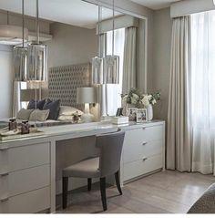 Best Modern Dressing Room For Women Style 25 Bedroom Dressers, Bedroom Wardrobe, Home Bedroom, Bedroom Decor, Serene Bedroom, Bedroom Inspo, Dream Bedroom, Bedroom Dressing Table, Dressing Table Design
