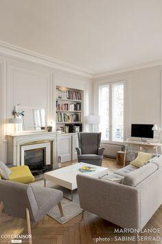Rénovation d'un appartement ancien à Lyon 03, Marion Lanoë - Côté Maison