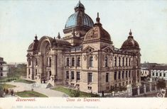 Vintage Architecture, Art And Architecture, Bucharest Romania, Commercial Architecture, Old City, Old Pictures, Palate, Time Travel, Barcelona Cathedral