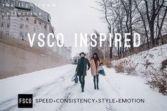 VSCO Cam Lightroom Presets Bundle by FSCO on @Graphicsauthor