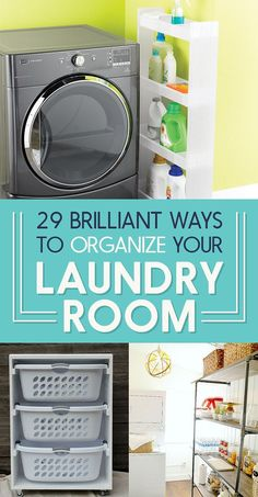 29 Brilliant Ways To Organize Your Laundry Room - DIY table top ironing board to sit on your washer.