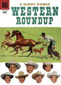 Western Roundup #17 Westerns, Comics, Movie Posters, Film Poster, Popcorn Posters, Comic Book, Cartoons, Film Posters