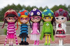Blythe & Rainbows part of Collector Interview: Maggie Stimson photo by blythe stole my heart