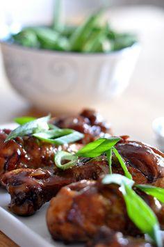 Kurczę w słodko-pikantnej glazurze na chińska nutę Beef, Food, Meat, Ox, Ground Beef, Meals, Steak