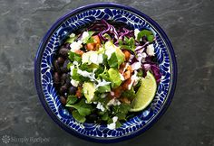 Black Bean Burrito Bowl
