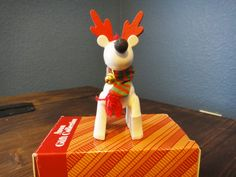 Belvedeer The Christmas Reindeer Ornament by Avon by theavintage, $5.00