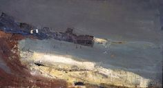 """""""The Sea and the Harbour"""" Joan Eardley Abstract Landscape Painting, Seascape Paintings, Landscape Art, Landscape Paintings, Landscapes, Pierre Bonnard, Mary Cassatt, Henri Matisse, Vincent Van Gogh"""